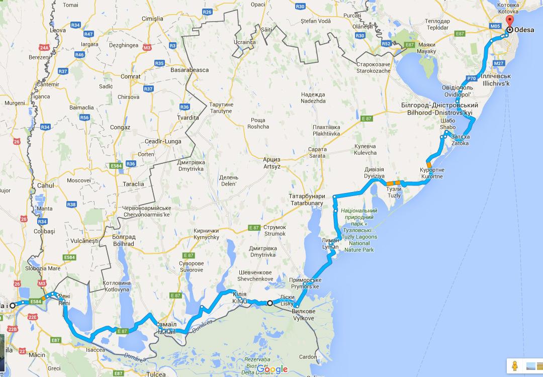 Cu bicicleta in Ucraina